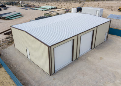 Metal building for lease